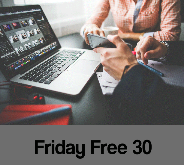 Friday Free 30 minute consultation